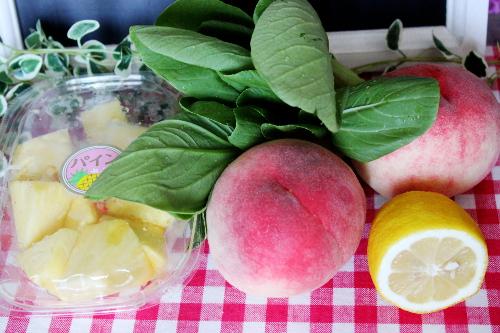 グリーンスムージー フルーツと野菜