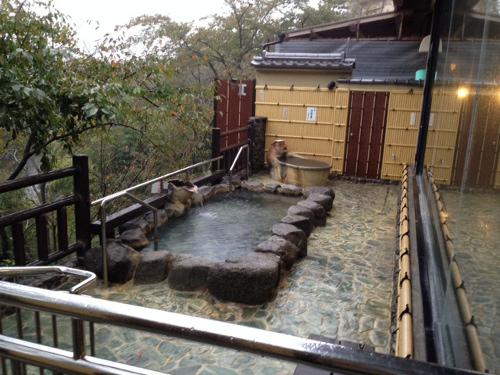 信貴山観光ホテル 露天風呂