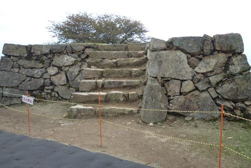竹田城階段