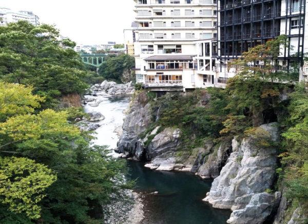 鬼怒川温泉風景